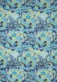 Thibaut Imperial Dragon Fabric in Navy and Green